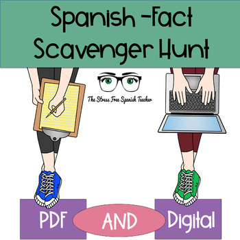 Spanish FACT Scavenger Hunt!