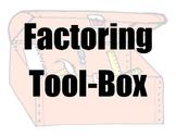 FACTORING TOOL-BOX mini bulletin board kit