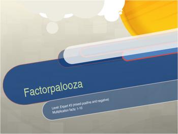 Factorpalooza       Level: Expert #3