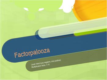 Factorpalooza       Level: Hard