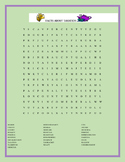 FACTS ABOUT TAXATION- WORD SEARCH