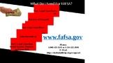 FAFSA Info Poster