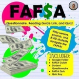 FAFSA Introduction for Students and Parents -Questionnaire