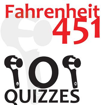 FAHRENHEIT 451 8 Pop Quizzes Bundle