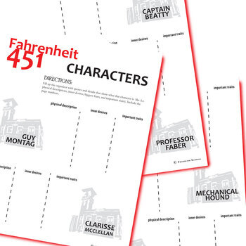 an analysis of character in fahrenheit 451 (read full character analysis) get the entire fahrenheit 451 litchart as a printable pdf my students can't get enough of your charts and their results have gone through the roof.