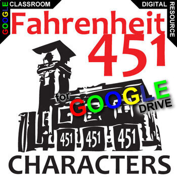 FAHRENHEIT 451 Characters Organizer (Created for Digital)