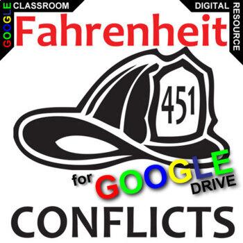 FAHRENHEIT 451 Conflict Graphic Organizer (Created for Digital)