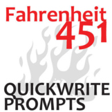 FAHRENHEIT 451 Journal - Quickwrite Writing Prompts - PowerPoint