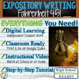 Fahrenheit 451 by Ray Bradbury - Text Dependent Analysis Expository Writing
