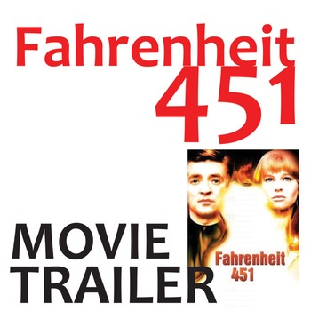 FAHRENHEIT 451 Movie Trailer 1966