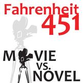 FAHRENHEIT 451 Movie vs Novel Comparison