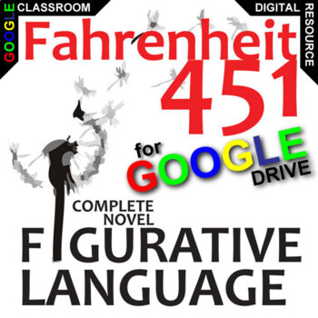 FAHRENHEIT 451 Palacio R.J. Novel Figurative Language (Cre