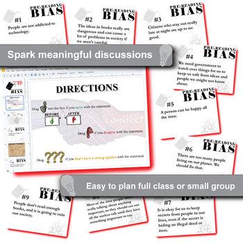 FAHRENHEIT 451 PreReading Bias Activity (Created for Digital)