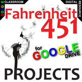 FAHRENHEIT 451 Projects  - Creative, Differentiated (Creat