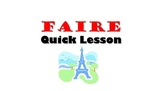 FAIRE: French Quick Lesson