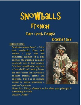 FAIRE Snowballs FRENCH