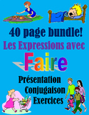 FAIRE expressions (presentation /Oral activities /written