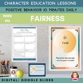 FAIRNESS | Google Apps | Positive Behavior | Daily Charact