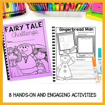 FAIRY TALE  STEM & MATH CHALLENGES GYTO STYLE