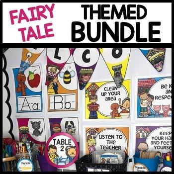 FAIRY TALE THEMED BUNDLE | CLASSROOM DECOR