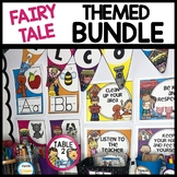 FAIRY TALE THEMED BUNDLE | CLASSROOM DECOR