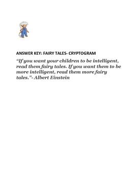 FAIRY TALES- A CRYPTOGRAM