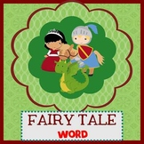 FAIRY TALE - Newsletter Template WORD