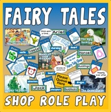 FAIRY TALES SHOP ROLE PLAY TEACHING RESOURCES EYFS KS1-2 ENGLISH SPEAKING