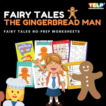 FAIRY TALES: The Ginger Bread Man