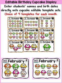 FAIRYTALE CLASS DECOR: EDITABLE BIRTHDAY PACK