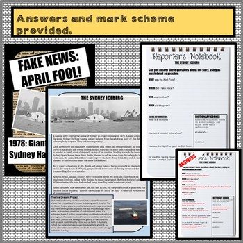 FAKE NEWS: APRIL FOOL! Reading comprehensions on the best pranks in history.