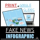 FAKE NEWS INFOGRAPHIC (INTERACTIVE OR PRINT)
