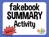 FAKEBOOK SUMMARY Activity