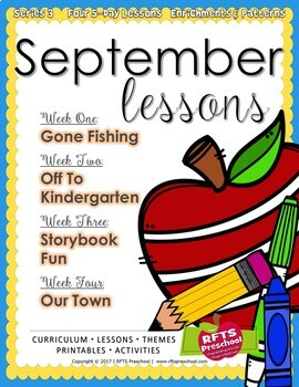 FALL 12 LESSON PLANS Curriculum Bundle [SEPTEMBER ~ OCTOBER ~ NOVEMBER] Series 3