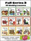 FALL 12 LESSON PLANS Curriculum Bundle [SEPTEMBER ~ OCTOBE