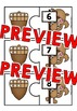FALL MATH ACTIVITIES: FALL TEN FRAMES PUZZLES (NUMBERS 0-20): FALL MATH CENTERS