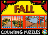 FALL MATH CENTERS: FALL COUNTING PUZZLES: NUMBERS TO 120:
