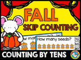 FALL MATH ACTIVITIES (SKIP COUNTING BY 10S)