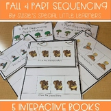 FALL 4 PART SEQUENCING FOR AUTISM AND SPECIAL EDUCATION