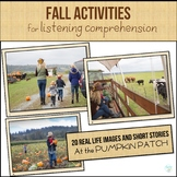 FALL ACTIVITIES for Listening Comprehension