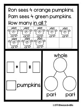 ADDITION WORD PROBLEMS WITH SIGHT WORDS AND COLOR WORDS