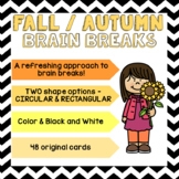 FALL/AUTUMN Brain Breaks [Brain Gym] + BONUS!