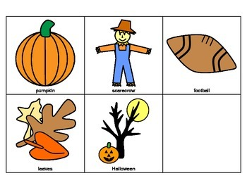 FALL AUTUMN Riddles Adapted Book, SPEECH THERAPY, Autism, Vocabulary