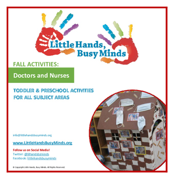 FALL Activities: Doctors & Nurses Weekly Thematic Unit for Toddlers & PreK