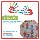 FALL Activities: FREE All About Me Weekly Thematic Unit for Toddlers & PreK