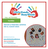 FALL Activities: Families Weekly Thematic Unit for Toddlers & PreK