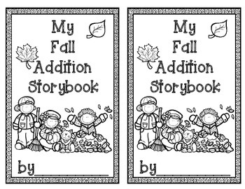 FALL Addition Storybook Activity