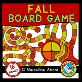 AUTUMN CLIPART ⚫ BUILD A FALL GAME BOARD CLIP ART INCLUDING SPINNERS AND PIECES