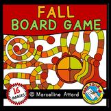 AUTUMN GAME BOARD CLIPART: BUILD A GAME CLIPART: FALL CLIP