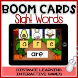 BOOM CARDS FALL: Games for BEGINNING SOUNDS&SIGHT WORDS Autumn Distance Learning